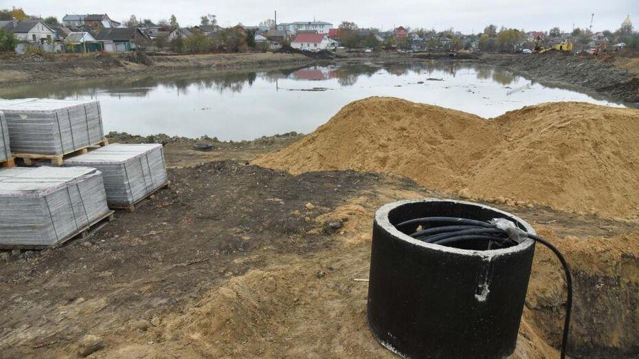 Вице-губернатор потребовал ускорить благоустройство озера в Павловске