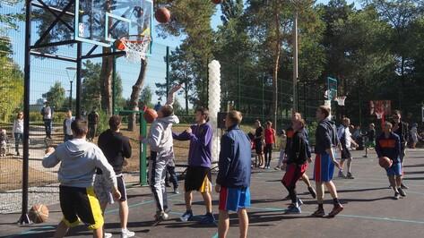 В Воронеже открылся первый Центр уличного баскетбола со свободным доступом