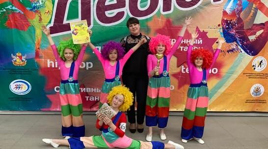 Эртильский коллектив привез «серебро» с областного танцевального турнира «Дебют-2021»