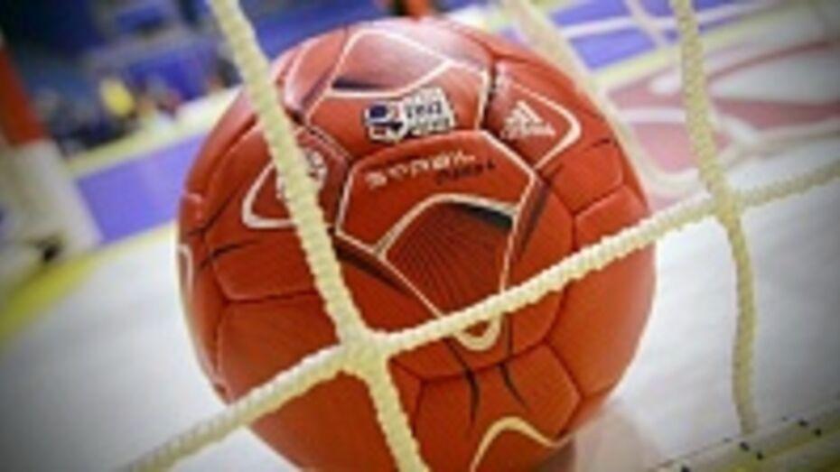 Гандболисты воронежской «Энергии» одержали вторую победу в чемпионате российской Суперлиги