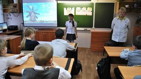 В Семилукском поселке школьникам рассказали об уходе за зубами
