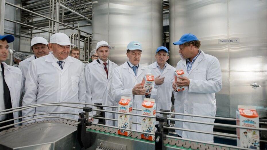 Воронежский молокозавод «ЭкоНиваАгро» выйдет на полную мощность в 2017 году