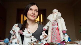 Дед Мороз с лицом Толстого. Как воронежская мастерица делает ватные елочные игрушки