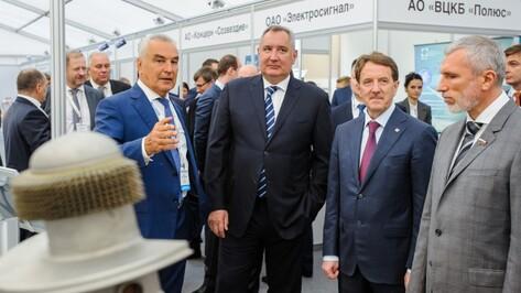 Вице-премьер Дмитрий Рогозин в Воронеже заявил о сокращении доли гособоронзаказа