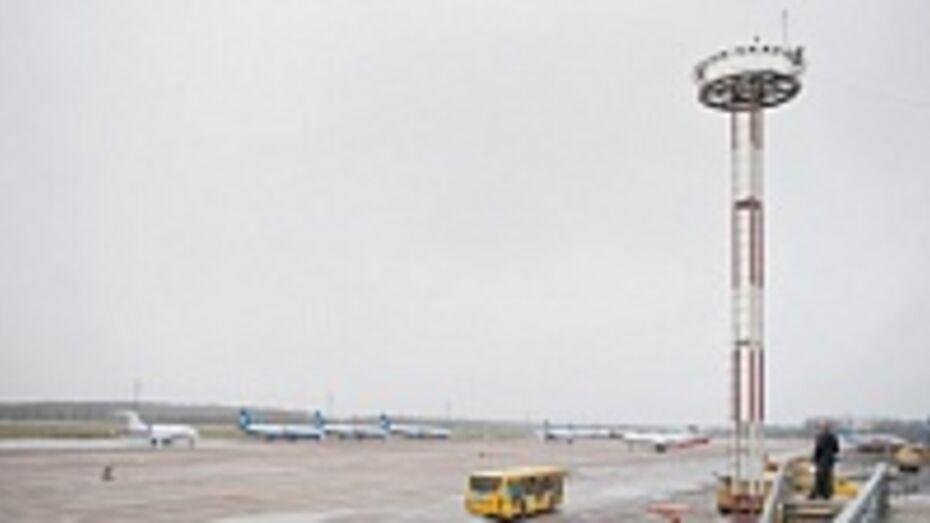 Воронежский аэропорт 16 января работает в штатном режиме