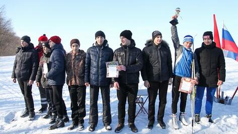 В Острогожске наградили победителей соревнований по малому биатлону