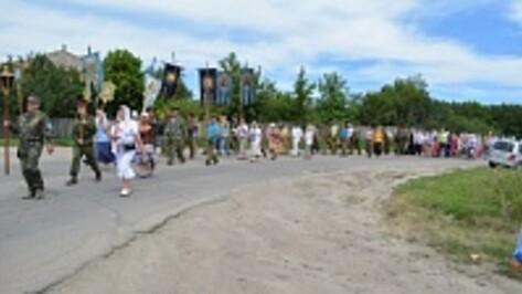 Православные пройдут по центру Воронежа с крестным ходом 1 августа