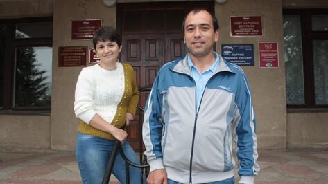 В Ольховатке молодая семья получила сертификат на приобретение жилья