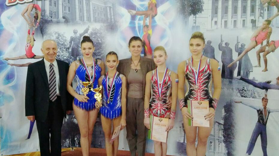 Юные акробатки из Воронежа завоевали Кубок России