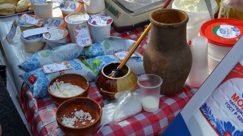 В Бутурлиновке прошла большая продовольственная ярмарка