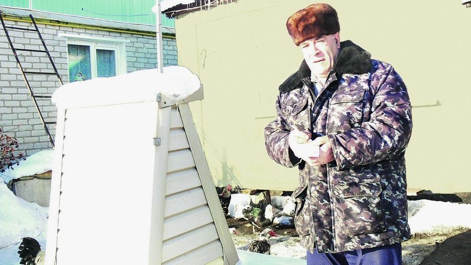 Верхнехавец Анатолий Добычин научился предсказывать погоду