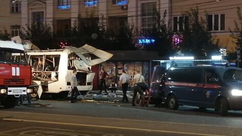 Число пострадавших от взрыва в автобусе в Воронеже выросло до 22 человек