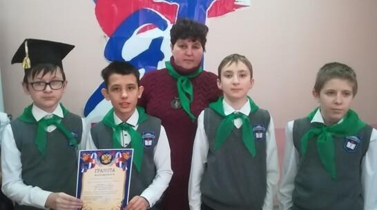 Бобровские школьники заняли 2-е место в финале областного конкурса соцпроектов