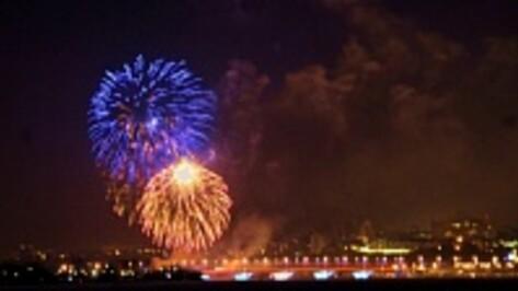 Салют Дня города в Воронеже начнется на час раньше обычного