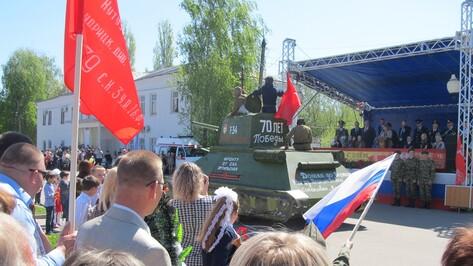 В День Победы по Эртилю прошли «танки»