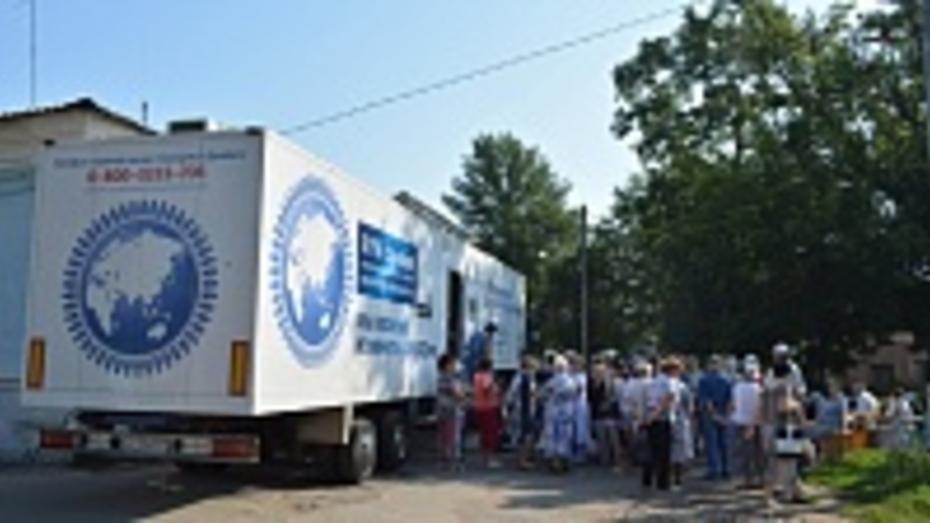 Мобильный диабет-центр посетил Острогожск