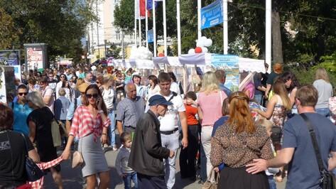 День города. Чем делился Воронеж?