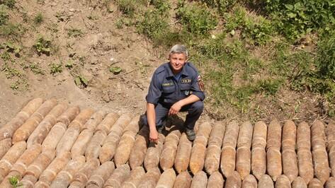 В Хохольском районе обезвредили 230 снарядов времен Великой Отечественной войны