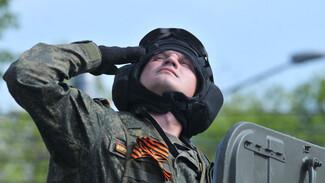 В Воронеже прошла вторая репетиция парада Победы