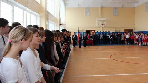 В новоусманской школе №3 после ремонта открылись два спортзала