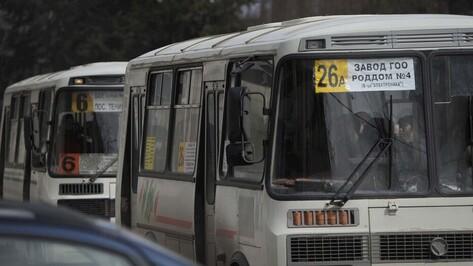 Власти рассказали о работе воронежского общественного транспорта в новогоднюю ночь