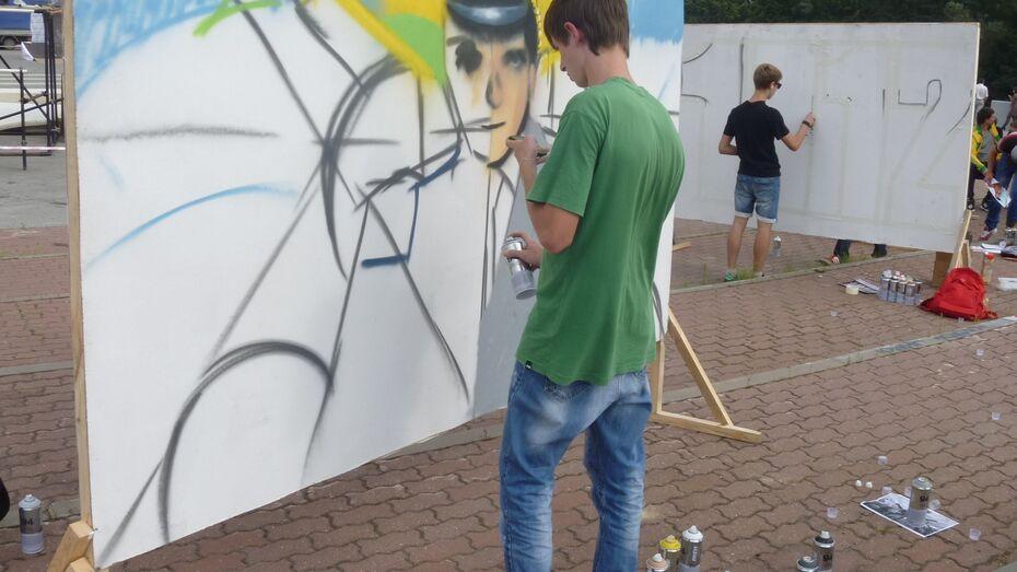 В Воронеже граффитистов, которые могут расписать вагоны, вычисляют в социальных сетях