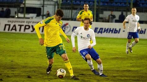 Хавбек воронежского «Факела» попал в сборную второго тура ФНЛ