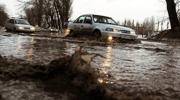 Ливень затопил в Воронеже 5 улиц