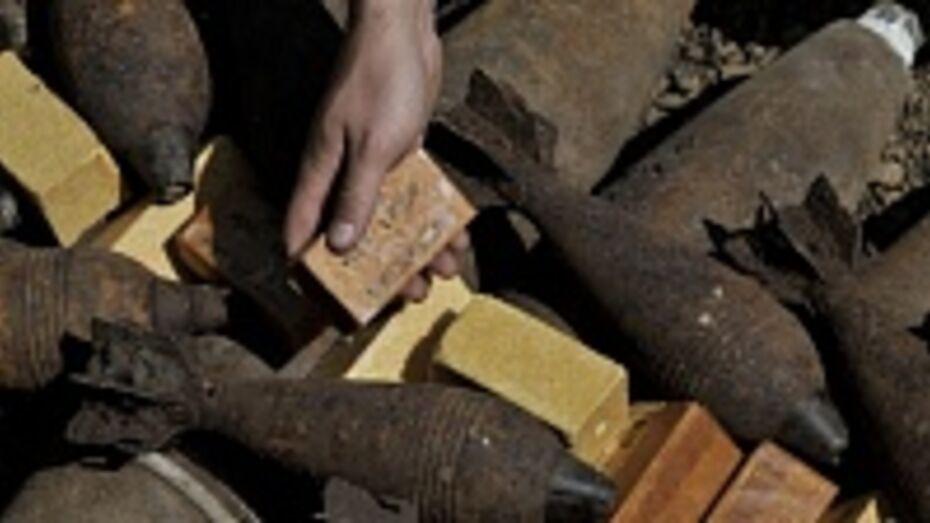В Кантемировке в ходе земляных работ были обнаружены минометные мины