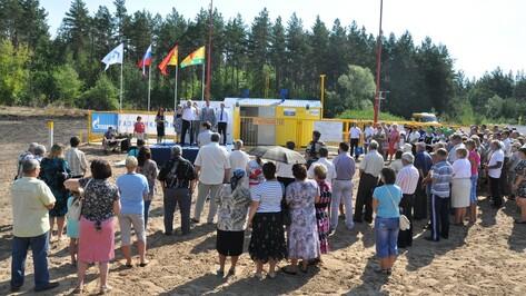 В село Щучинские Пески Эртильского района пришел природный газ