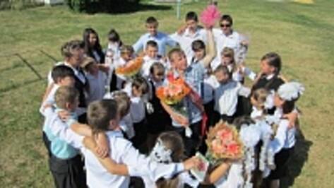 В Бутурлиновской сельской школе «Последний звонок» прозвенел для единственного выпускника