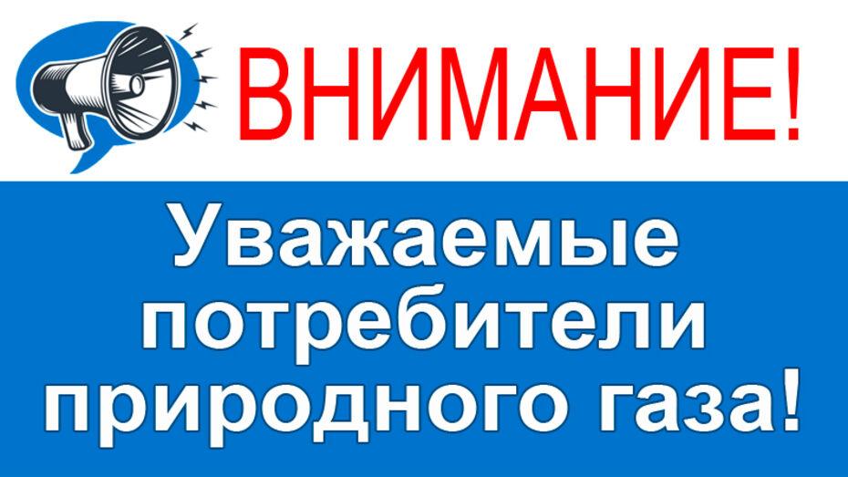 Жителей Воронежской области предупредили об изменениях сроков оплаты за газ