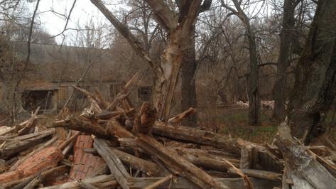 Маршрут экотропы изменили после сноса старинной усадьбы под Воронежем