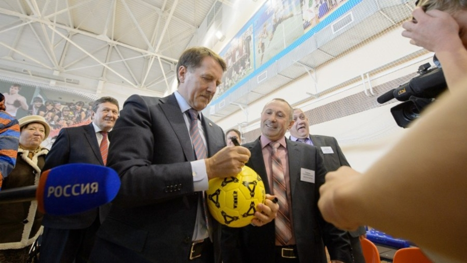 Воронежский губернатор открыл новый Центр культуры в Хохольском