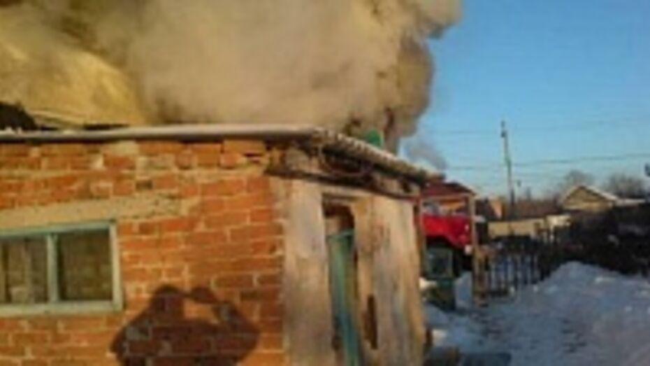 В Богучарском районе на пожаре погиб 31-летний мужчина