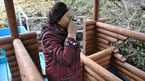 В семилукском селе общественники благоустроили родник
