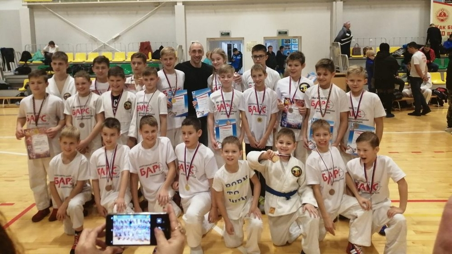 Борисоглебские рукопашники завоевали 8 золотых медалей открытого первенства области