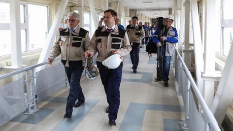 Председатель облдумы посетил Нововоронежскую атомную станцию