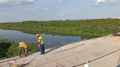 Мост через Хворостань в Воронежской области открыли для автомобилистов на время отпусков