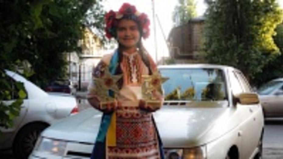 10-летняя жительница Ольховатского района стала лауреатом двух всероссийских конкурсов
