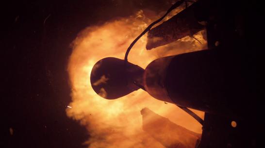 Частный космический завод испытал под Воронежем ракетный двигатель на уайт-спирите