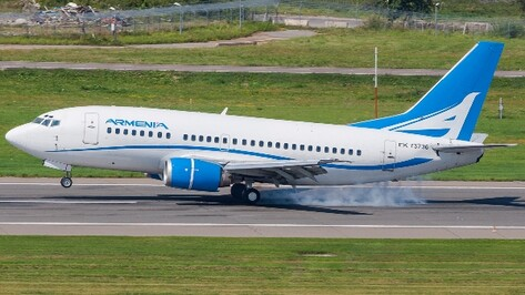 Полеты из Воронежа в Ереван начнутся 14 декабря