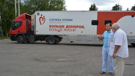 В Нижнедевицке прошел День донора