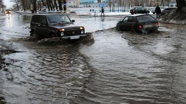 В Воронеже в марте выпала двухмесячная норма осадков