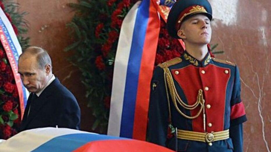 Военнослужащий из репьевского села провожал в последний путь легендарного  конструктора Михаила  Калашникова