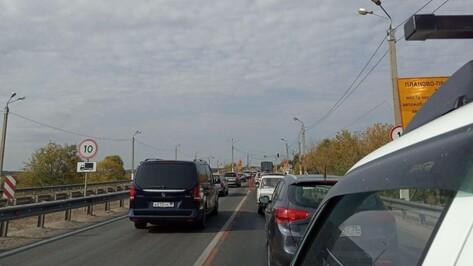 Целиком открыли мост через Дон на Курской трассе под Воронежем