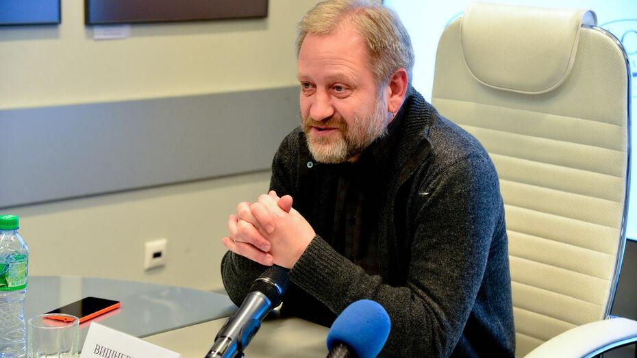 В Воронеже выступил зампред Союза журналистов России Алексей Вишневецкий