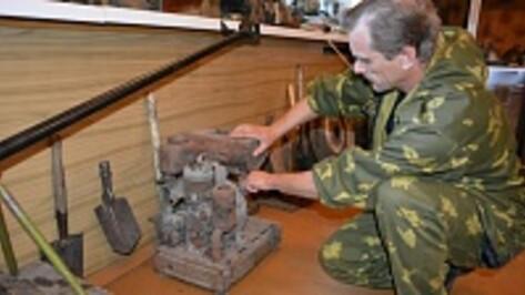 Военно-исторический музей Нижнедевицкого района пополнили новыми экспонатами