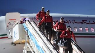 Сборная Марокко по футболу прибыла в Воронеж
