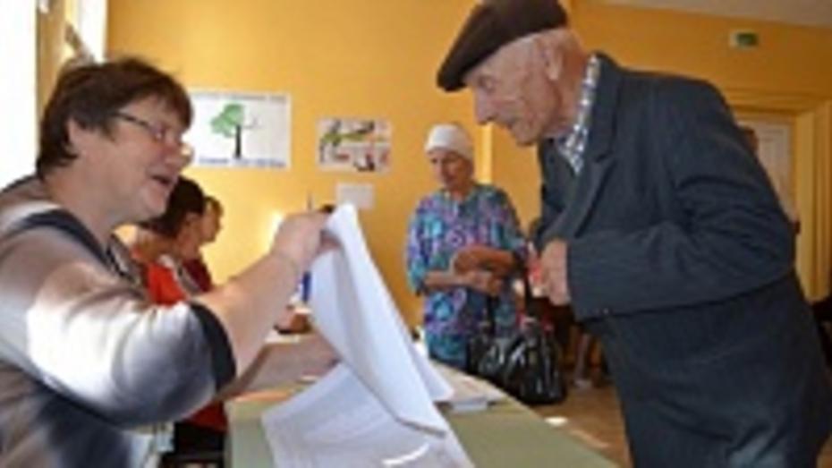 В Павловском районе Алексей Гордеев получил 80,86% голосов избирателей на выборах губернатора